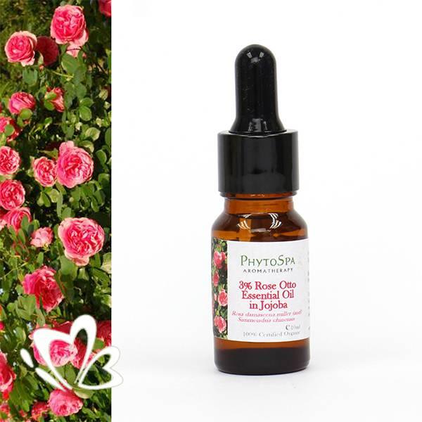 有機奧圖玫瑰3%香薰精油 10ml
