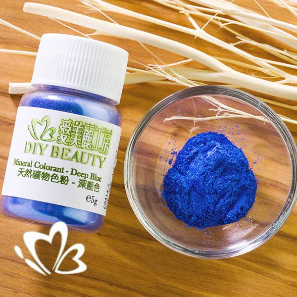 天然礦物色粉 ─ 深藍色 5g
