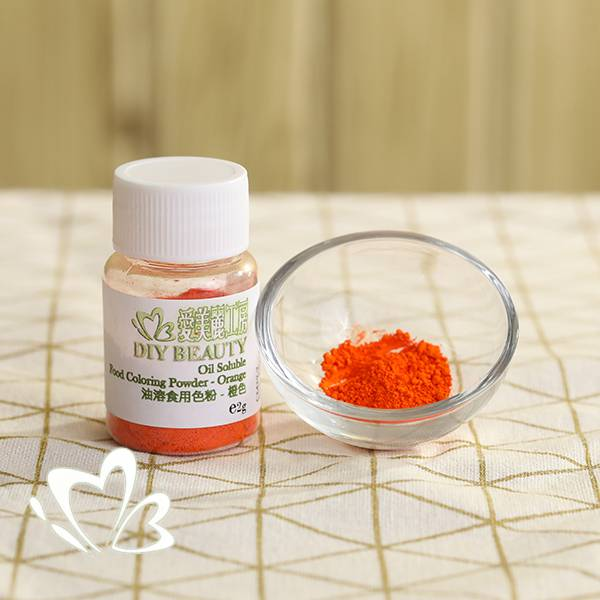 Oil Soluble Food Coloring Powder - Orange
