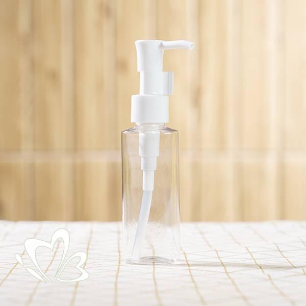 50ml 透明塑膠泵裝瓶