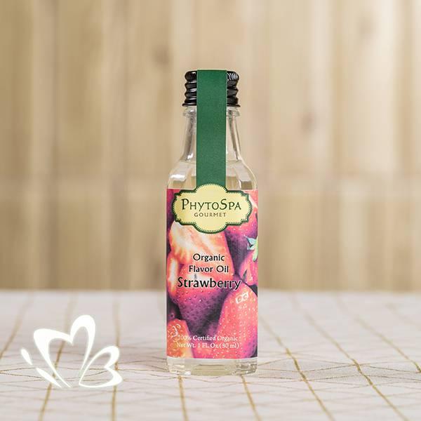 有機食用香油 - 草莓味 30ml