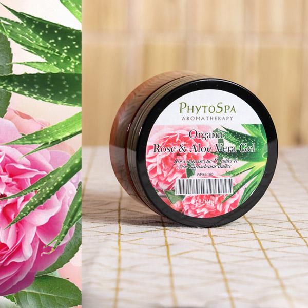 Organic Rose & Aloe Vera Gel